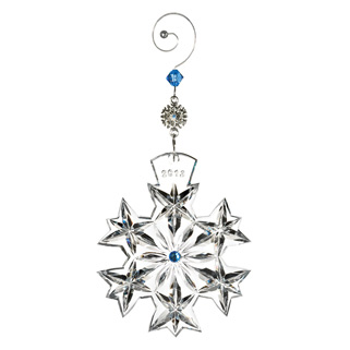 Waterford  Snowflake Wishes 2013 Goodwill Kerry Ornament