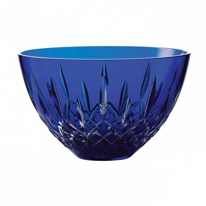 Waterford Treasures Of The Sea Lismore Bowl Blue 8in