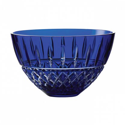 Waterford Treasures Of The Sea Tramore Bowl Blue 8in