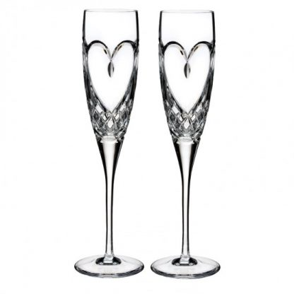 Waterford Toasting Flutes Waterford Love True Love Flute