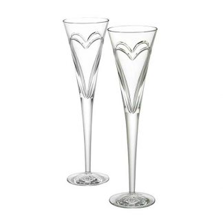 Waterford Wishes Love & Romance Toasting Flute