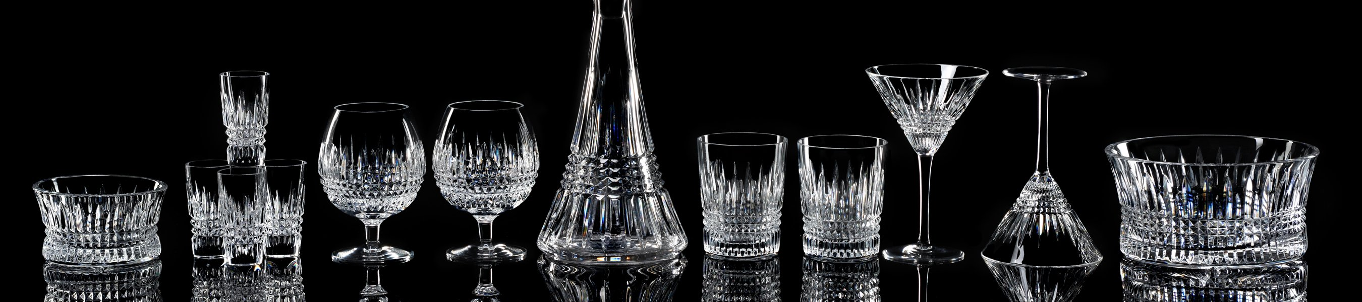 Waterford Crystal Stemware and Barware Collections